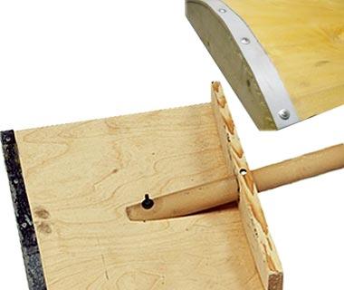 Как сделать своими руками лопату для уборки снега