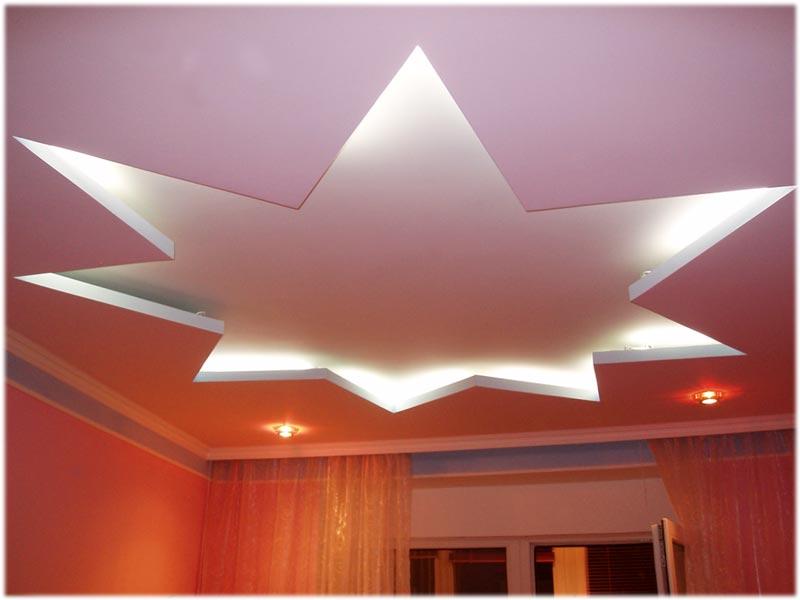 Звезды на потолке своими руками фото